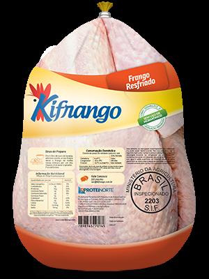 Frango Resfriado s/ Miúdos Costas